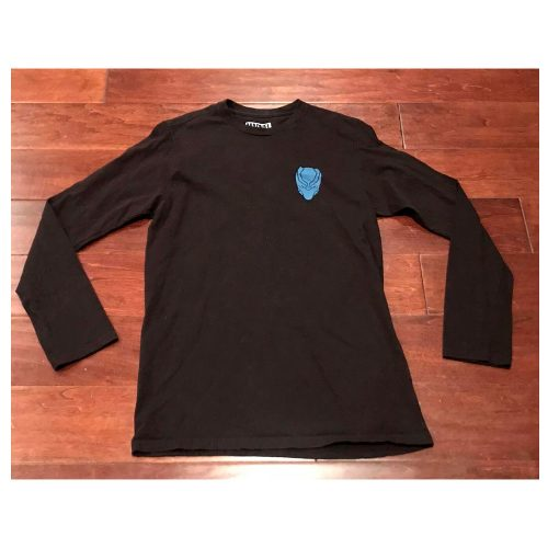 Marvel-Comics-Mens-Blue-Black-Panther-Long-Sleeve